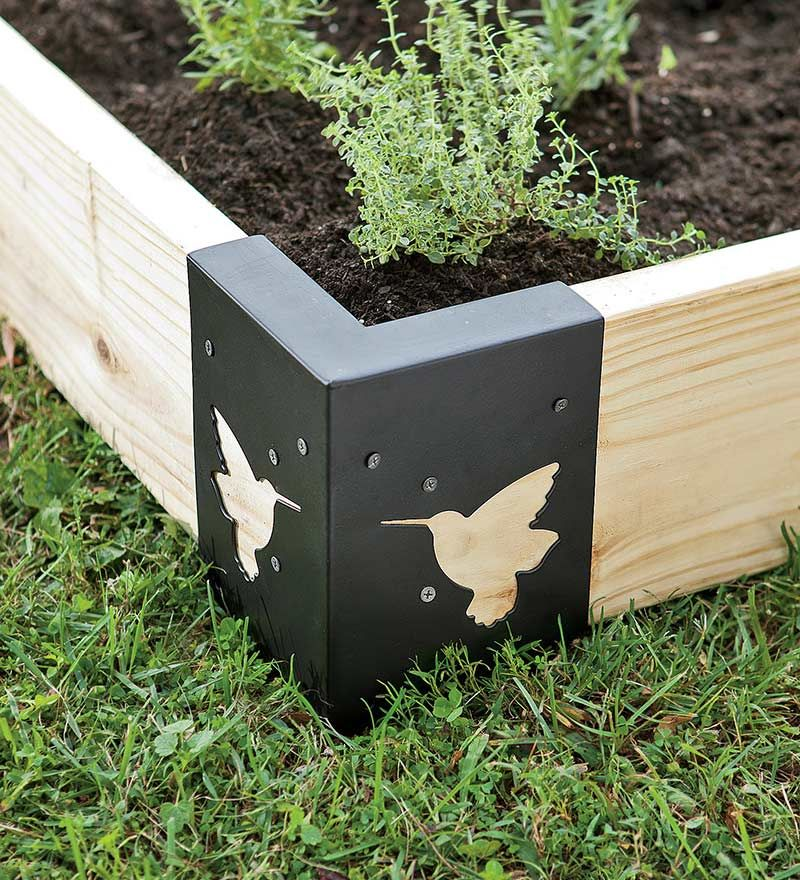 Raised Garden Corner Supports