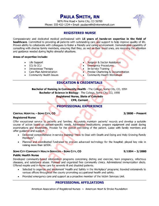 Sample Resume Nurses Nursing Resume Sample Writing Guide Resume