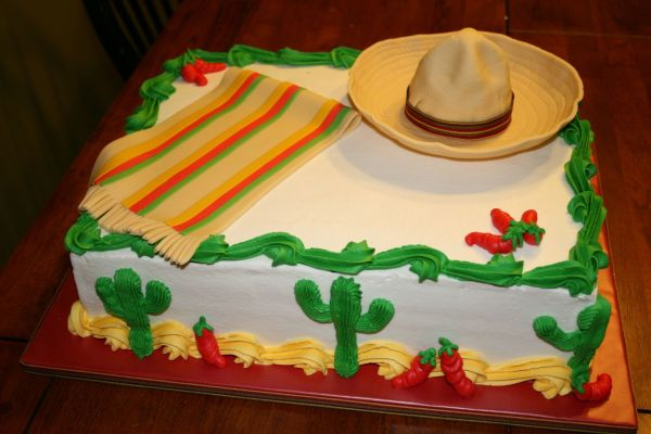 Mexican Fiesta Cake Ideas