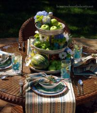 Patio Garden Dining Details: * Patio Garden Dinnerware ...
