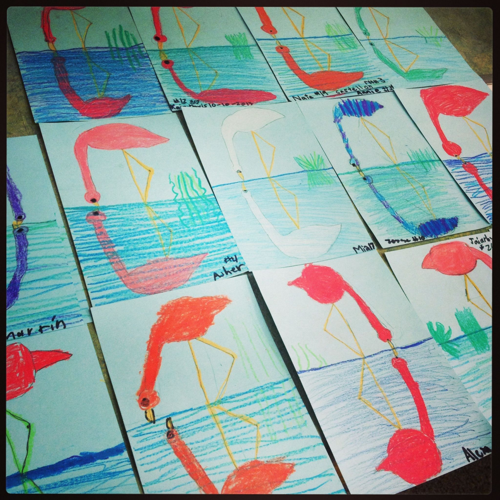 I Use Crayola Construction Paper Crayons And Half Sheets Of Blue Card Stock White Paper Work