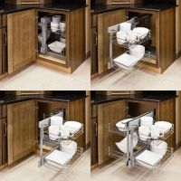 Show Hand- Metal -Pull-Out Unit For blind Corner Cabinet ...