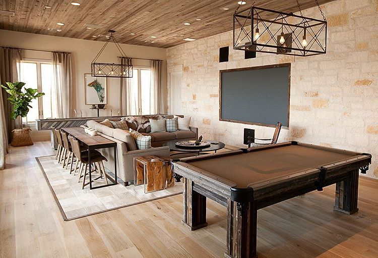 How About This Game Room Designed By #TracyHardenburgDesign? Can