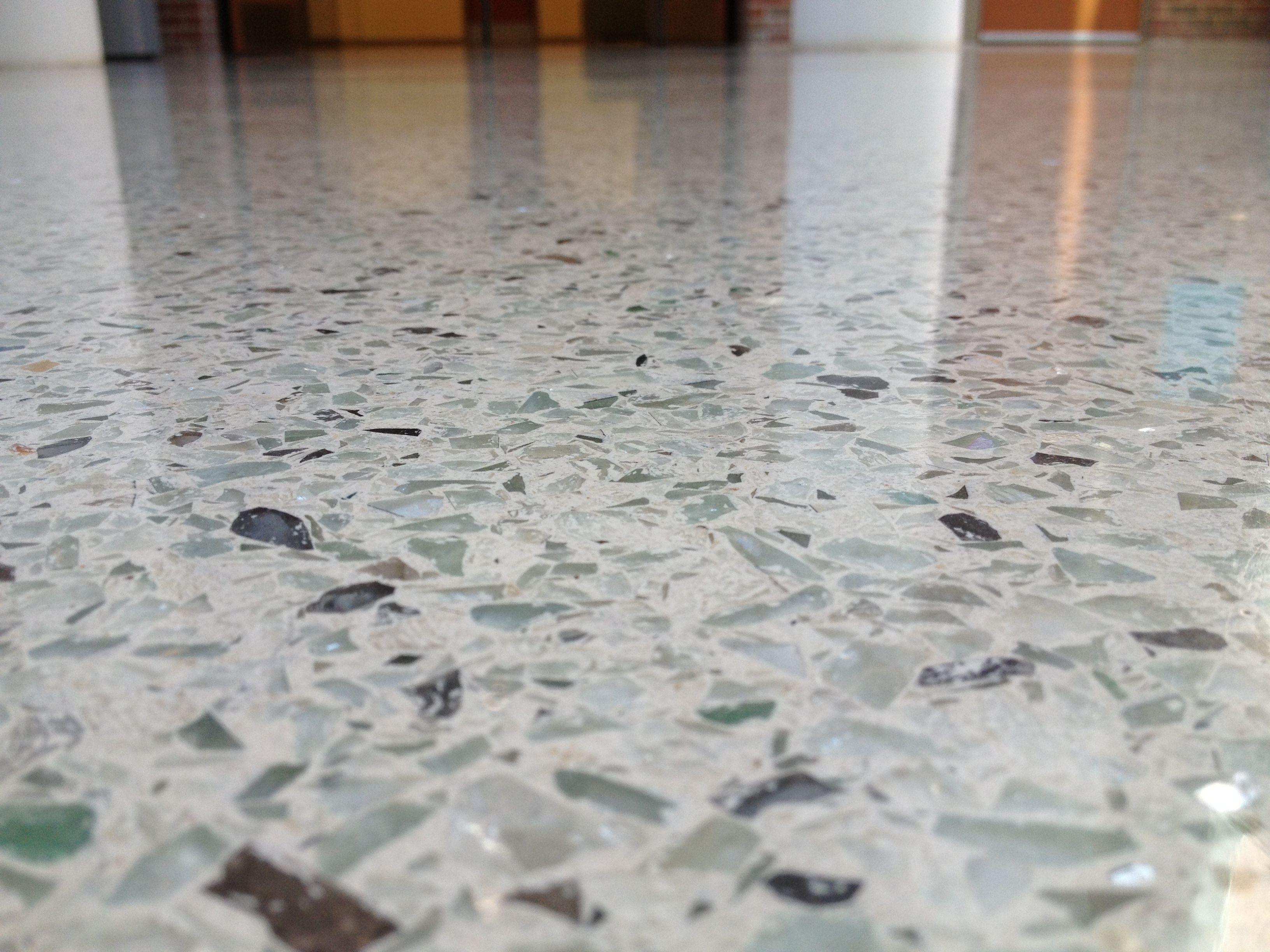 I dream of terrazzo floorsbut would need radiant