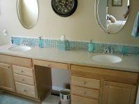 Mosaic vanity backsplash fail | Bathroom3 | Pinterest ...