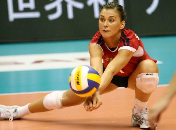 Katarzyna Skowronska Women Of Volleyball Court And