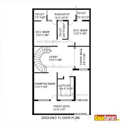 House Plan Of 30 Feet By 60 Feet Plot 1800 Squre Feet Built Area
