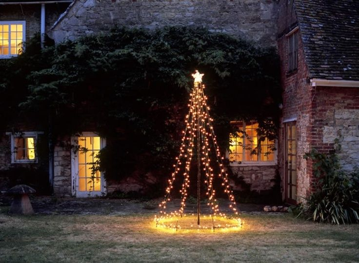 Image result for Create a Tree With String Lights