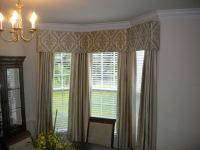 Cornice Board in Bay Window with matching panels | Mary's ...