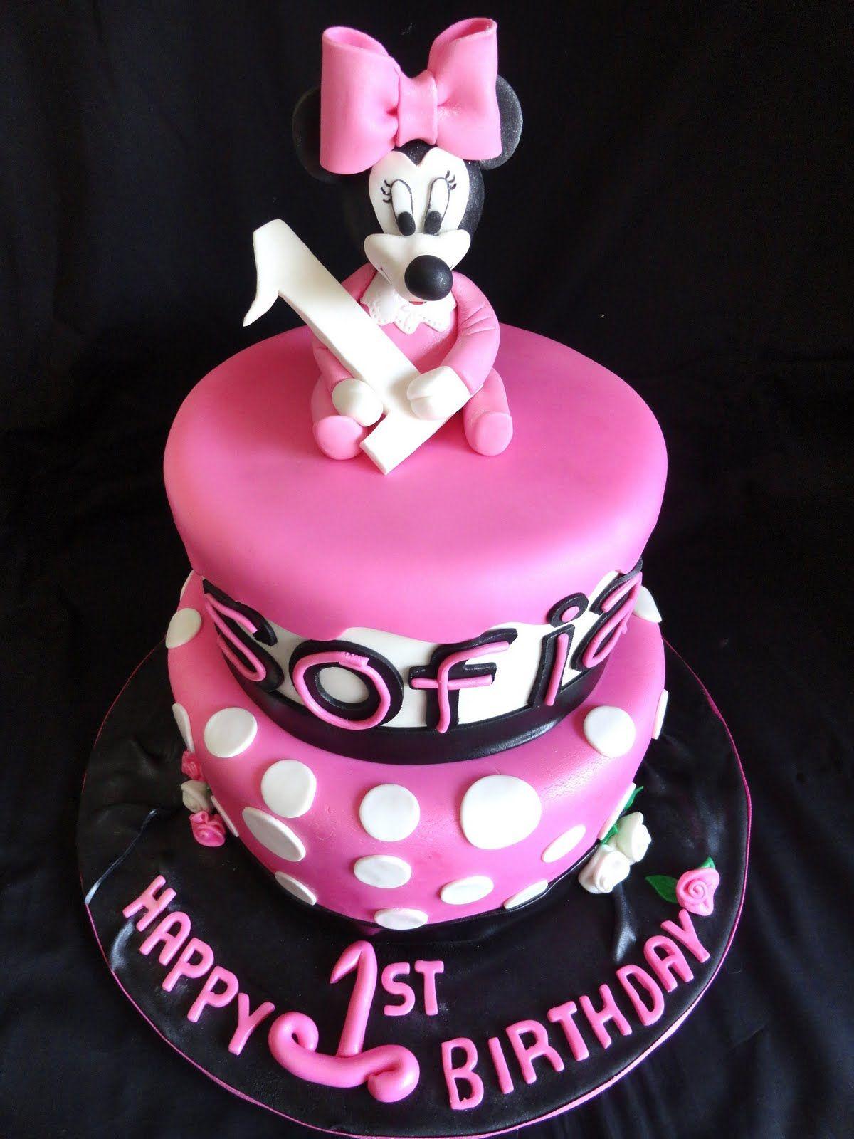 Minnie Mouse Cake Ideas