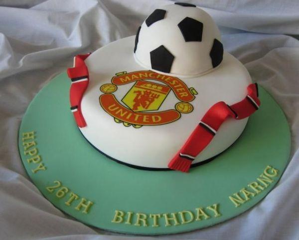 MaKayla!!!!!!!!!!! Manchester United birthday cake