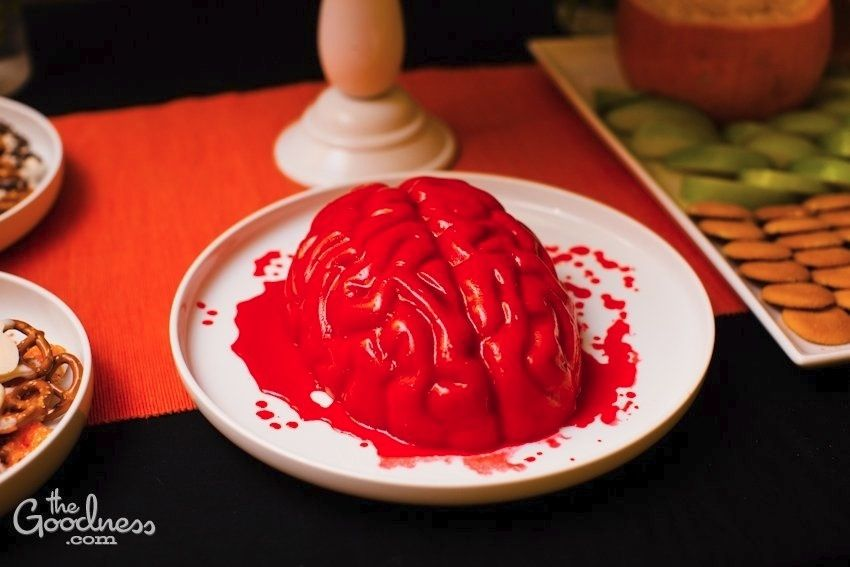 Halloween Party Food Brain Jello Is A Must! Halloween Party