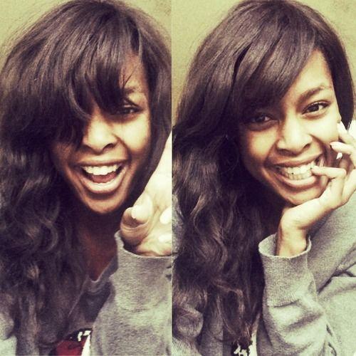 KNaomi N Keitumetse Naomi South African Beauty #black #hair