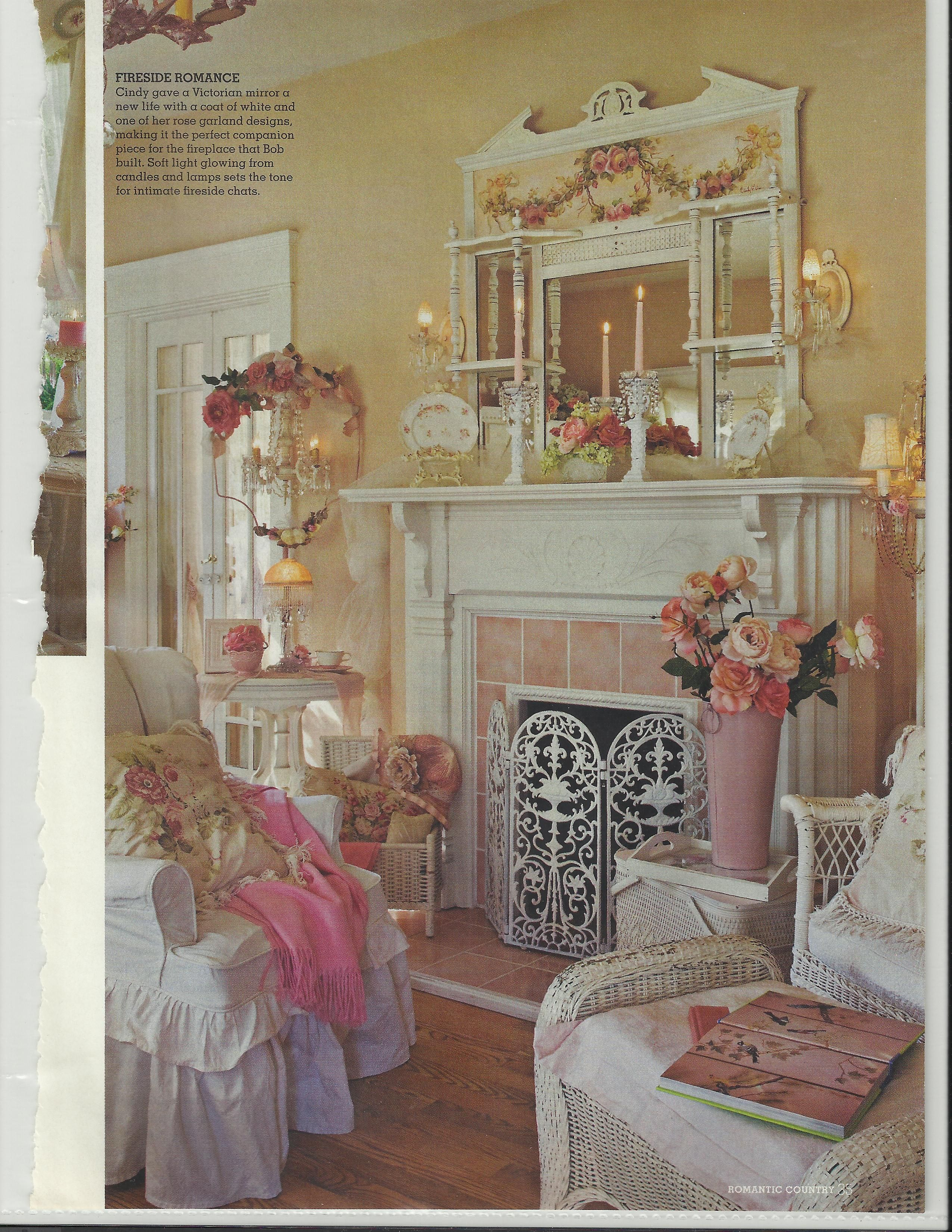 Bob  Cindy Elliss lovely home featured in Romantic