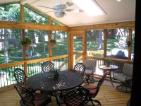 Cheap Screened In Porch Ideas Modern Home Design With ...