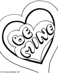 Cute Valentine Coloring Pages | page cupid valentine ...