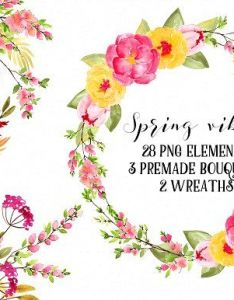 Spring vibes rb by charushella on creativemarket also flowers rh pinterest