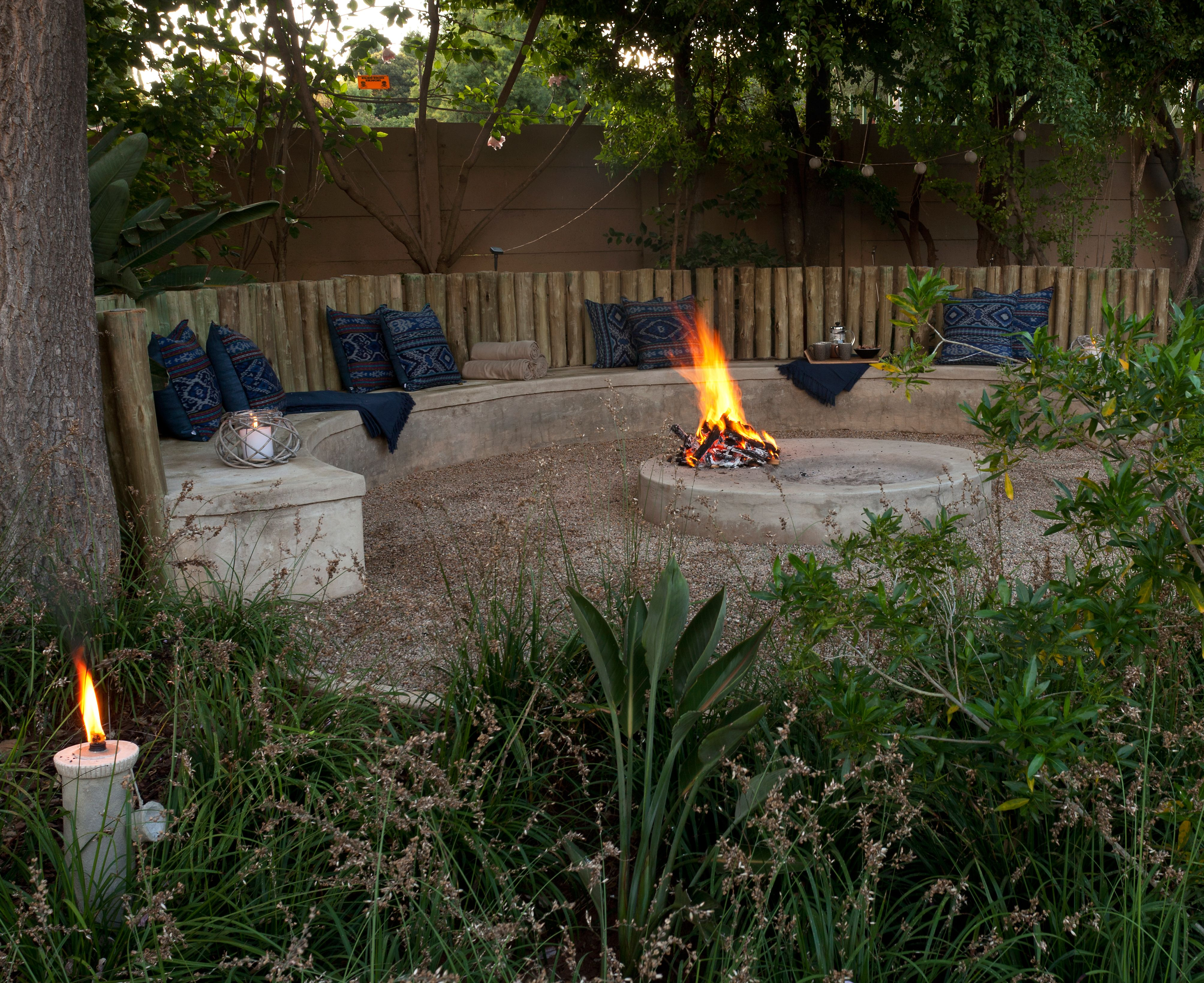 African Themed Boma By Create A Landscape Boma Project