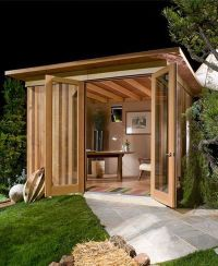At First It Looks Like A Regular Backyard Shed, But Just ...