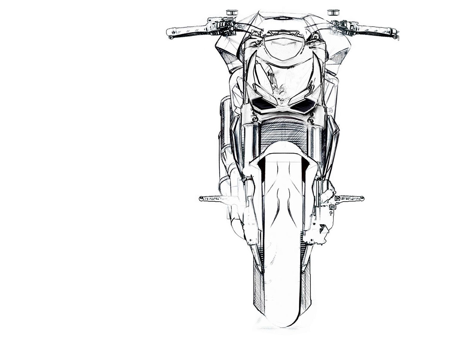 Ducati Streetfigther Sketch
