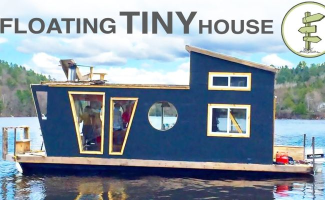 Living On A 4 Season Houseboat Beautiful Floating Tiny