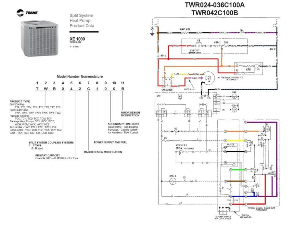 medium resolution of heat pump contactor wiring diagram heat image trane contactor wiring diagram trane automotive wiring diagram on