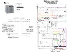 trane heat pump wiring diagram twn042c100a4 | Last edited