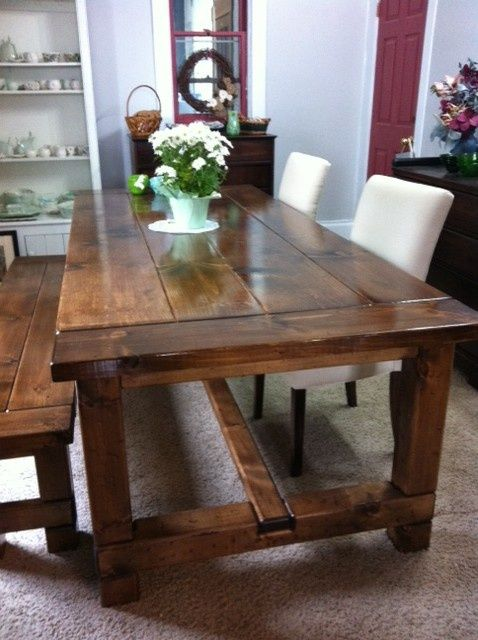 Gorgeous Harvest Table Building Our Dream Home