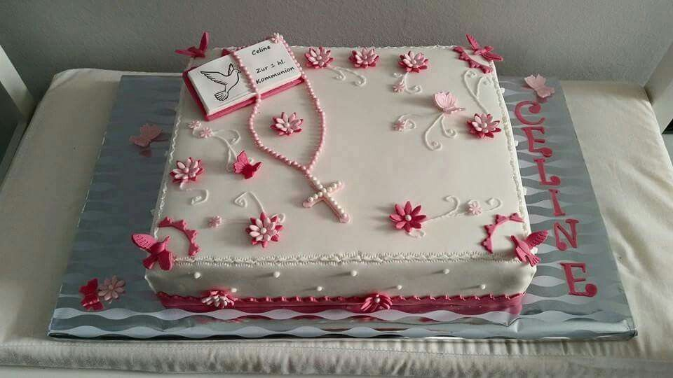 Kommunions Torte  Cake  Pinterest  Communion Communion