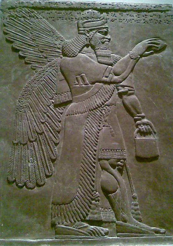 Annunaki Sumerian Tattoo