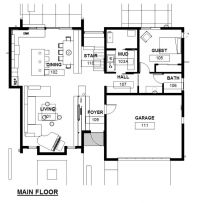 Residential house architectural plans - House design plans