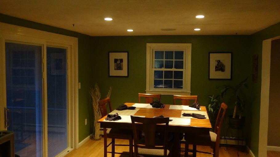 recessed lighting dining rooms  Dining room recessed lighting Inceiling speakers  Inside