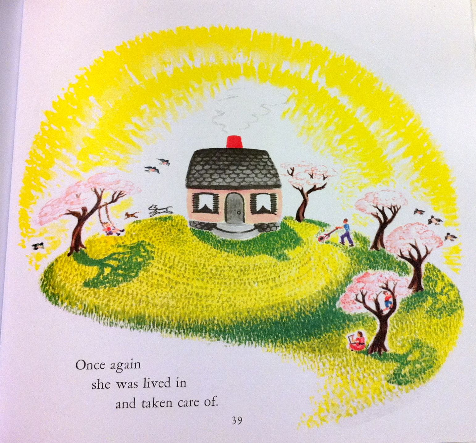 From The Little House By Virginia Lee Burton
