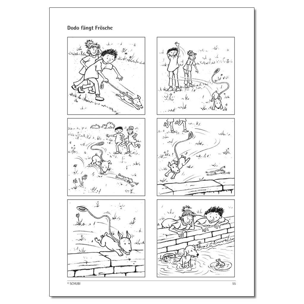 A Sprachfoerderung Mit Bildergeschichten Buch