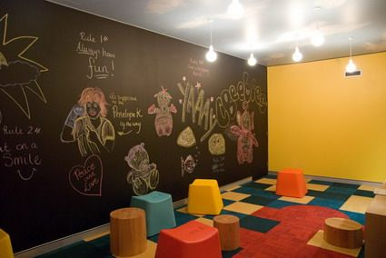 Artistic Abstract Art Decoration for Preschool