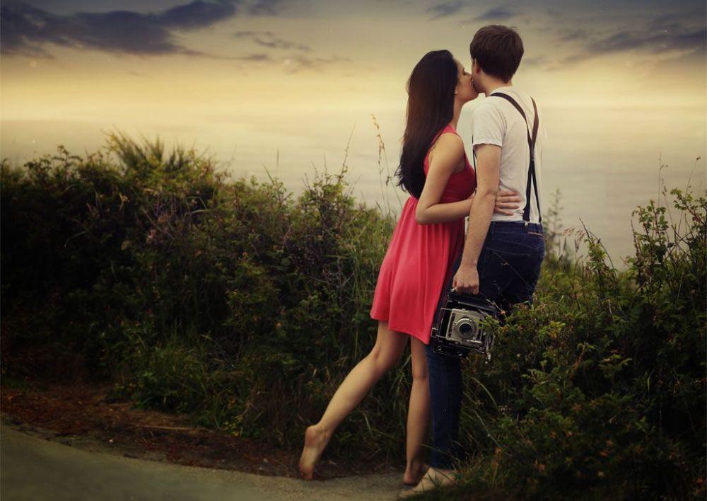 Image result for love partner pics distance
