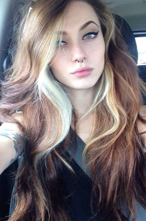Cute Long Hairstyles With Blonde Highlights Long Hairstyles
