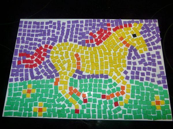 Paper Mosaic Art Projects Kids Mosaics