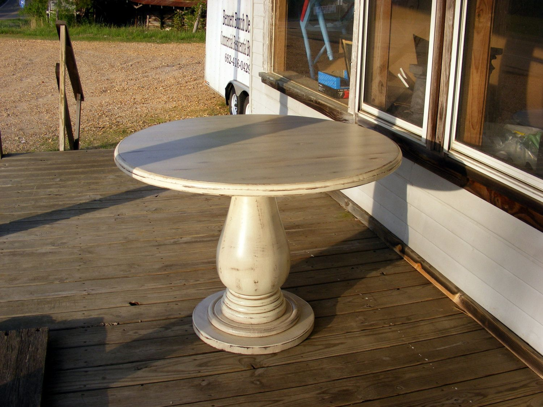 Unfinished Table Base