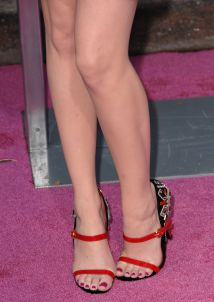 Emma Stone' Feet And Legs Heels