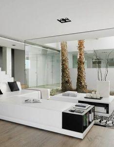 Pure white interior design in einer villa granada also inspiring interiors home diseno de rh pinterest