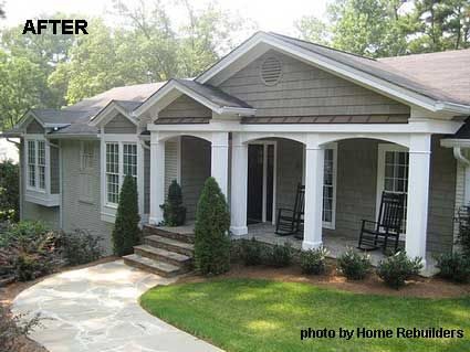 Front Porch Designs Front Porches Curb Appeal And Porch