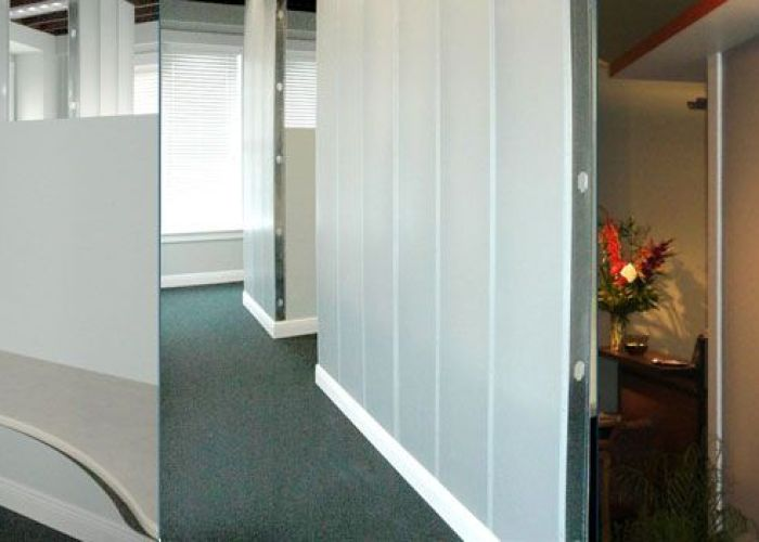 Translucent panels wall systems and paneling also office pinterest walls room