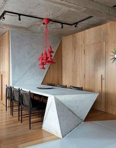Red is the superstar in this contemporary dining room created by interior designer guto requena discover season   newest designs and also pinterest world catalog of ideas rh