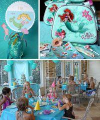 Little Mermaid Birthday Party Decoration Ideas | Mermaid ...