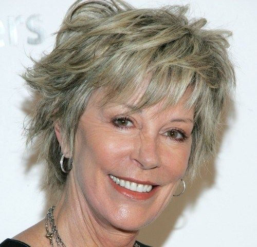 Short Shaggy Hairstyles For Older Women With Fine Hair New