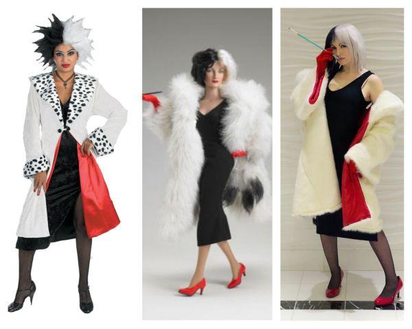 Dalmatians- Cruela Devil Costume Party Costumes Halloween