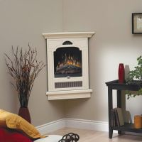 Small Corner Gas Fireplace Ideas   Things I don't have a ...