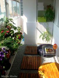 japanese garden condo balcony