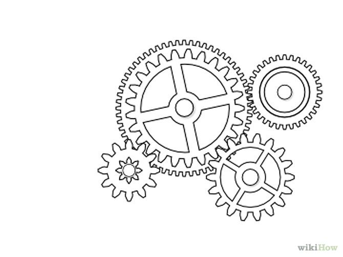 Draw Gears In Inkscape